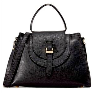 Meli Melo double flap satchel